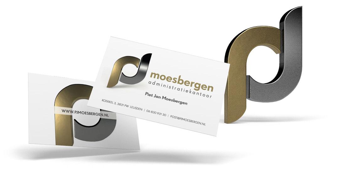 administratiekantoor moesbergen visitekaartje