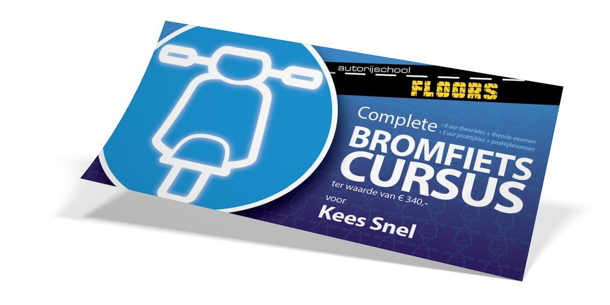 Bromfiets cursus Floors