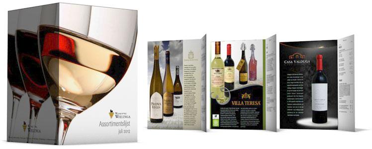 Wijnprijslijst