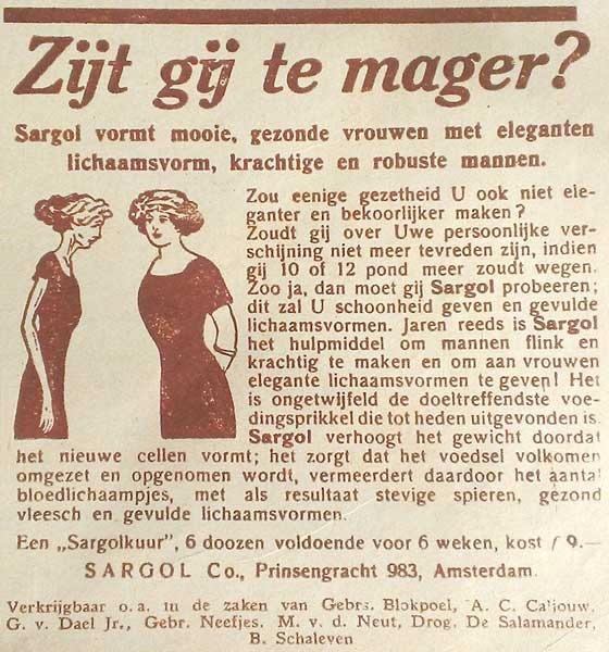 Magertjes…
