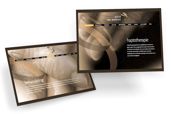 Haptotherapie Wakeren website