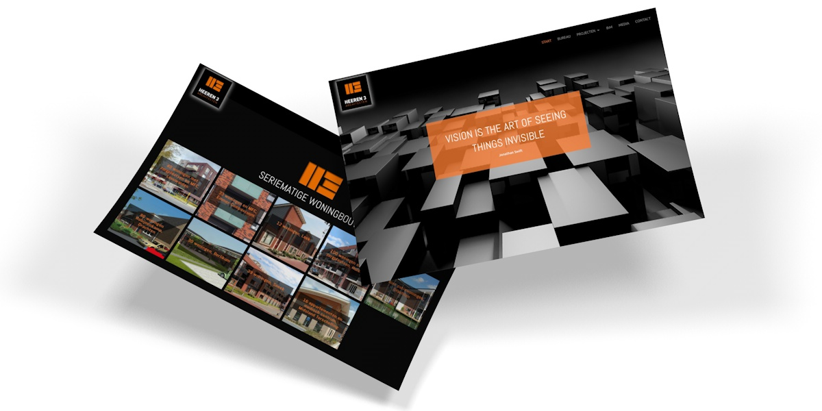 Heeren 3 Architecten website